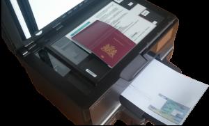 kopie identiteitskaarten template paspoort rijbewijs ID sjabloon kaart koop bestel cover mal